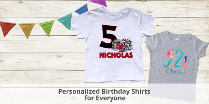 Personalized Birthday Shirt for everyone - NanyCrafts