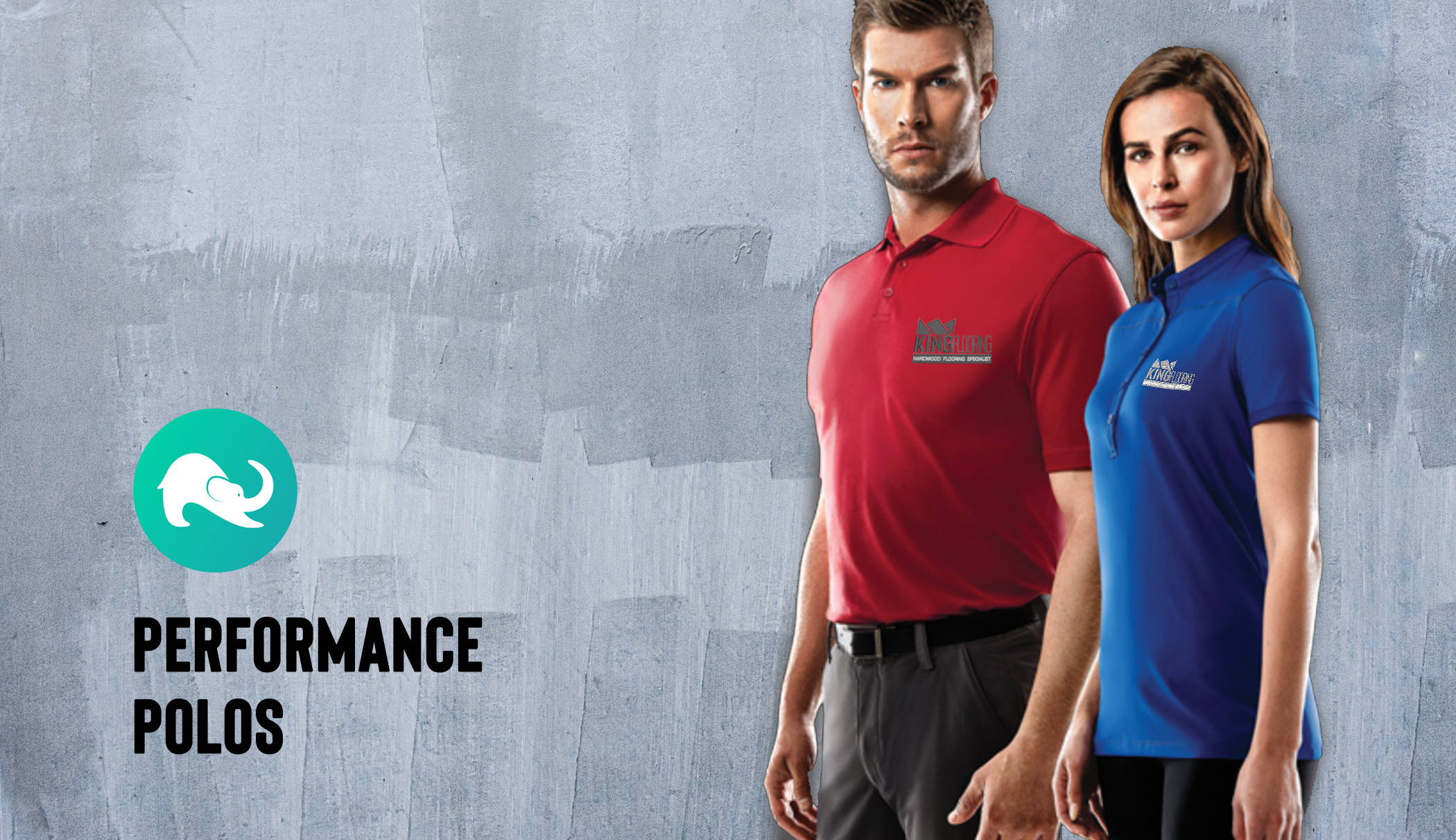 customized performace polo