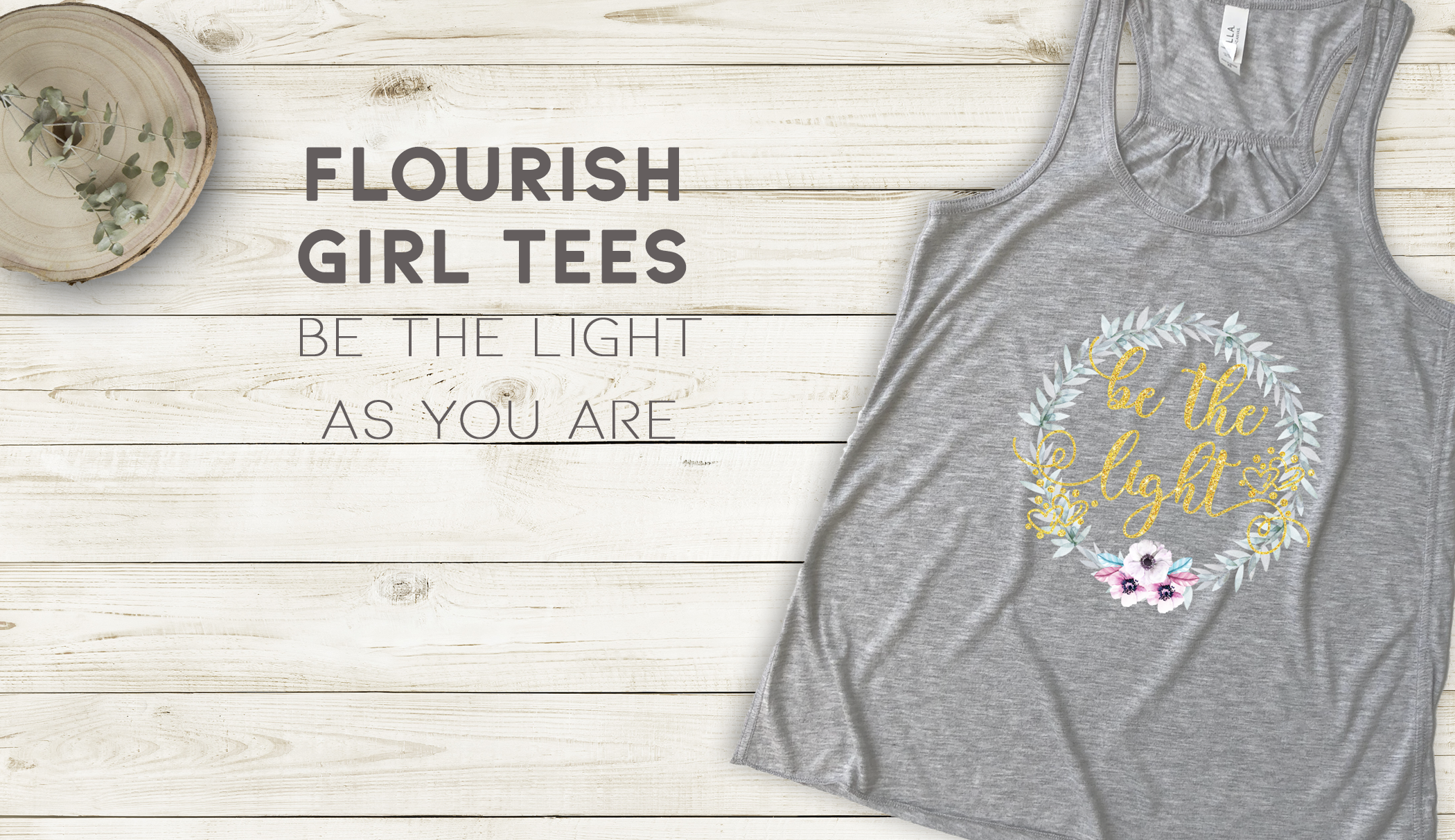 Flourish girls tees