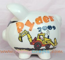 New Piggy Bank Truck Constructor