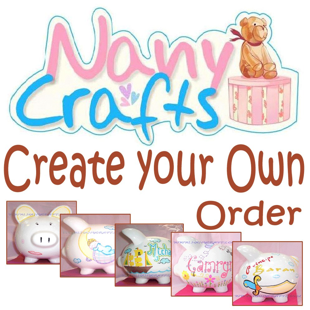 create your own piggy bank nany crafts