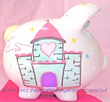 Piggy Bank the Princess