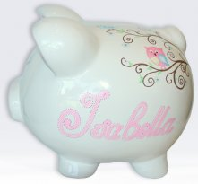 Owls and Birds Piggy Bank