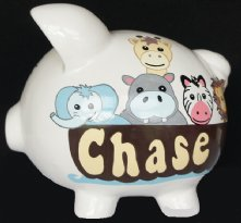 Noahs Ark Piggy Bank