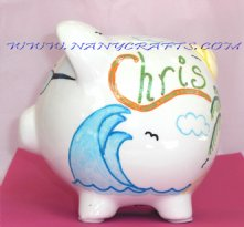 Piggy Bank in the Beach