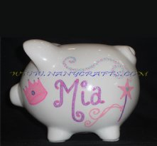 Piggy Bank the Small Princess