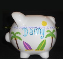 Small Surf Tables Piggy Bank