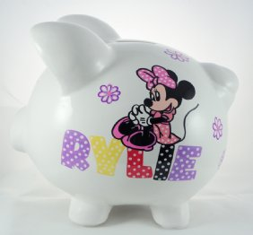 Minnie Mouse Piggy Bank