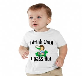 I Drink until I pass out - Baby Onesie