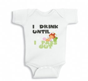 I drink Until I Pass Out baby Girl bodysuit