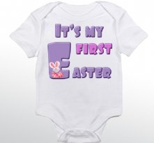 It is My First Easter - Personalized Baby Onesie