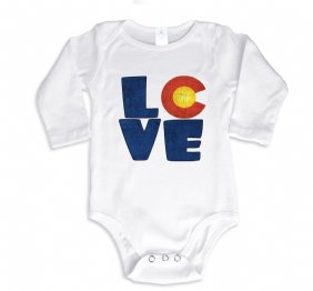 Love COLORADO baby Bodysuit or shirt