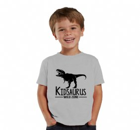Kidsaurus Children Heather Shirt