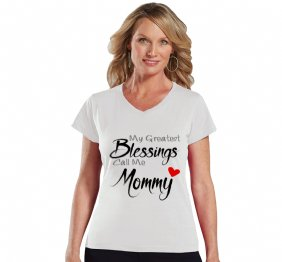 My Greatest Blessings Call Me Mommy Personalized Women Shirt
