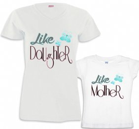 Like Mommy - Like Daughter Mommy and Daughter Matching Shirt Set