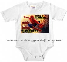 Being a Big Brother is even better Superhero - Baby Onesie