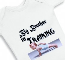 Big Brother in Training - Baby Onesie