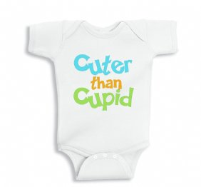 Cuter than Cupid Baby Bodysuit