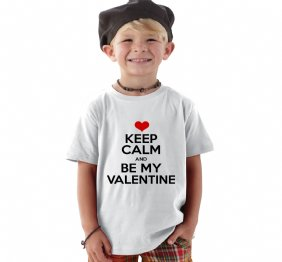 Keep Calm and Be my Valentine baby Onesie and Kids Shirt