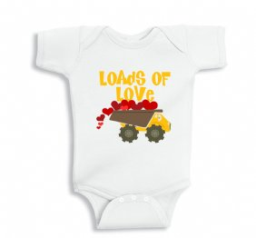 Loads of Love Baby Bodysuit or Kids Shirt