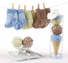 Sweet Feet Three Scoops of Socks Gift Set (Blue)