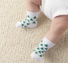 The 12 Days of Christmas Holiday Baby Socks Gift Set