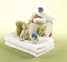 Earl the Squirrel Baby Gift Set | Earl the Squirrel and Forest Friends Woodland Gift Set