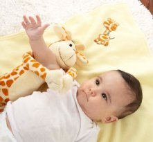 Jo Jo Giraffe 2 Piece Plush Baby Shower Present Set