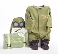 Big Dreamzzz Baby Pilot Two-Piece Layette Baby Shower Present Set