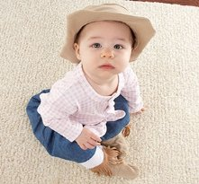 Big Dreamzzz Baby Cowgirl Two-Piece Layette Set