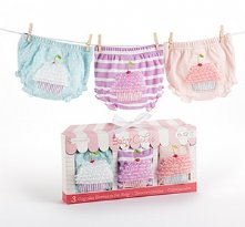 Baby Cakes Set of Three Cupcake Bloomers