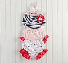 Belle Bebe Bloomers Set of 3 Bloomers for Baby