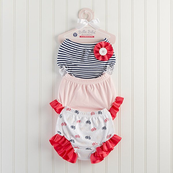 55313634e7c07 Belle Bebe Bloomers Set of 3 Bloomers for Baby - NanyCrafts