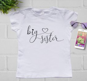 Big Sister - Girl Shirt
