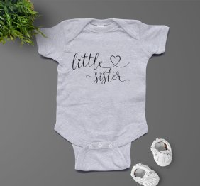 Little Sister - Baby Bodysuit