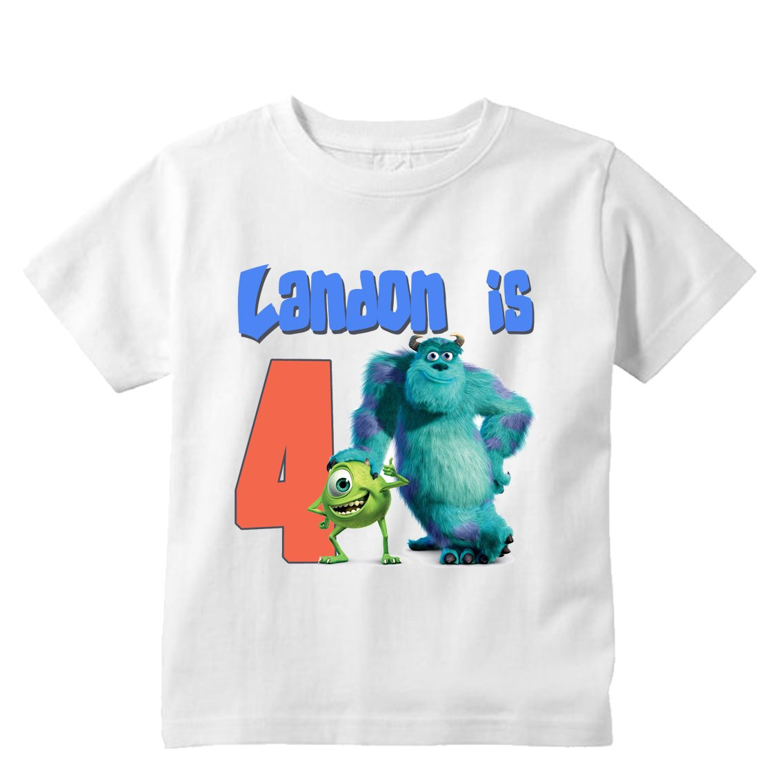 monsters inc birthday boy shirt