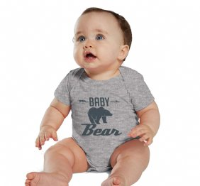 Charcoal Baby Bear Heather Shirt