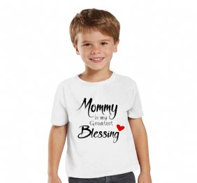 Mommy is my Greatest Blessing Personalized Children shirt