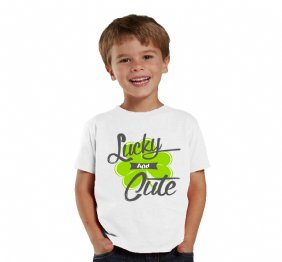 Lucky and Cute Shamrock shirt