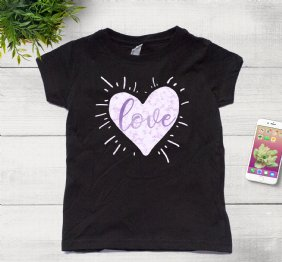 Love by Manuella - Girl Shirt