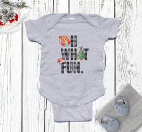 Oh What Fun - Baby Bodysuit