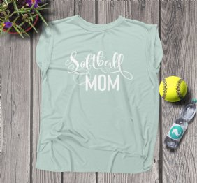 Softball Mom Women