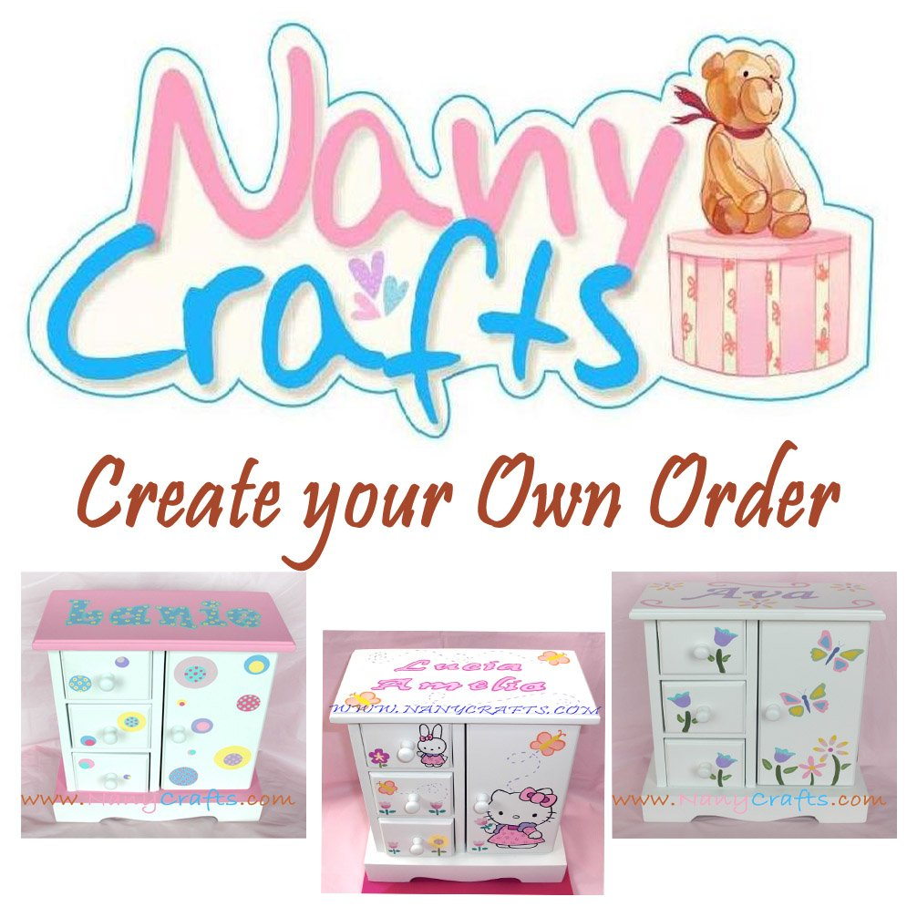 Create your Own Musical Jewelry Box Nany Crafts