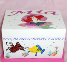 Little Murmaid Ballerina Jewelry Box