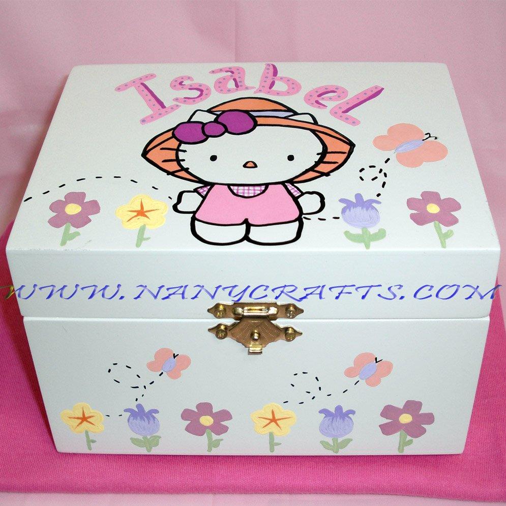 46328cfd7 Hello Kitty Ballerina Jewelry Box - Nany Crafts