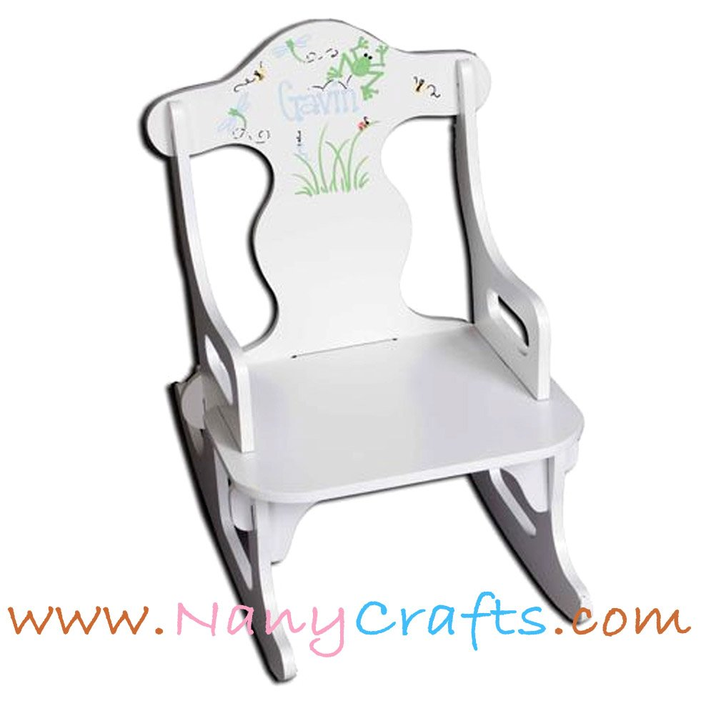 Miraculous Puzzle Kids Rocking Chair Happy Meadows Boy Nany Crafts Machost Co Dining Chair Design Ideas Machostcouk