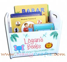 Kids Book Caddy Jungle Animals