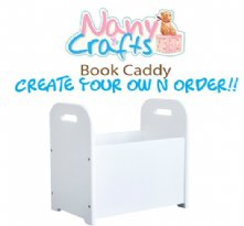 Create your Own Personalized Book Caddy for Kids