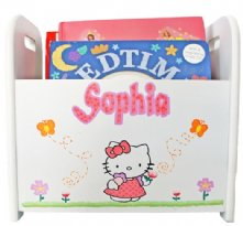 Hello Kitty - Personalized Book Caddy for Kids
